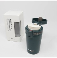 Thermal Cup With Pop-Up Lid (280 ml / Green)